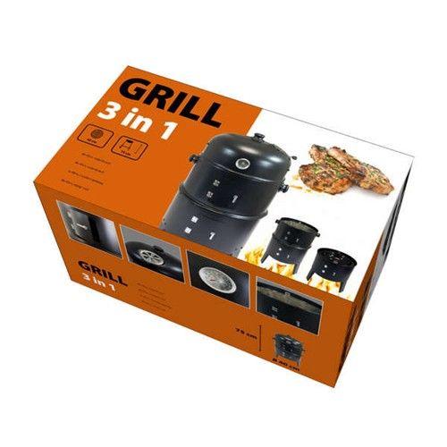 Happy Green grill węglowy 3 w 1