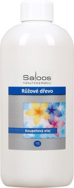 Saloos Koupelový olej Růžové dřevo 500 ml