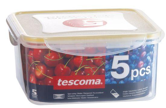 Tescoma Dóza FRESHBOX 5ks, čtvercová (892044)