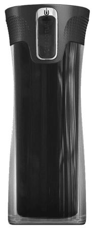 Contigo potovalni termo lonček Bella, 400 ml, crn