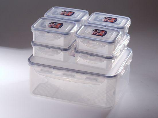 Lock&Lock (HPL836SC) Ételtároló doboz szett, 7 db