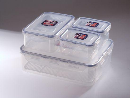 Lock&Lock Zestaw pojemników na żywność 4 szt