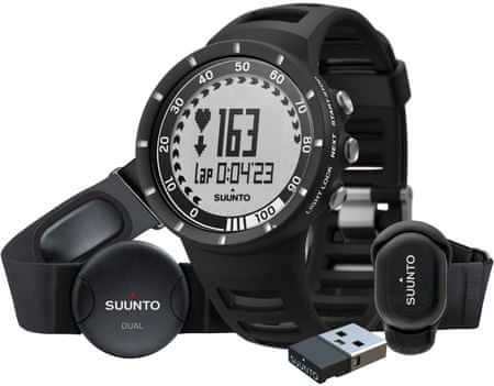 Suunto tekaški komplet Quest (S14), črn