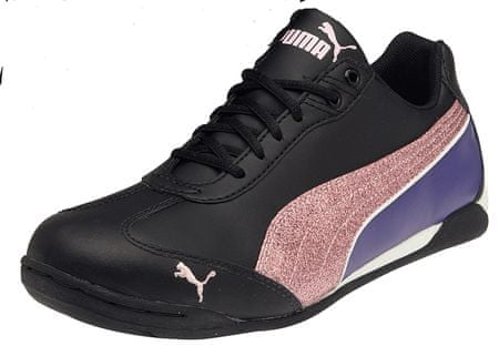 Puma Delor Cat Bling Jr Black-Pink Lady 3,5