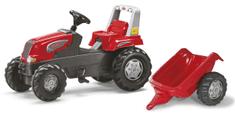 Rolly Toys Pedálos traktor és utánfutó