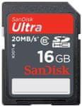 Sandisk SDHC Ultra 16 GB