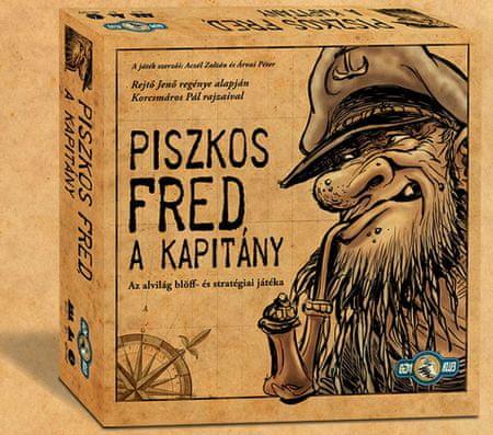 Gémklub Piszkos Fred 2. kiadás Társasjáték - Magyar nyelvű