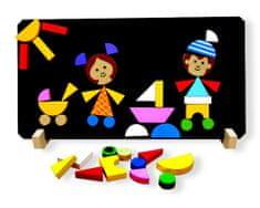 Detoa Magnetické puzzle Děti