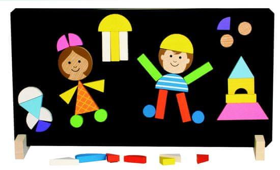 DETOA Magnetické puzzle Deti