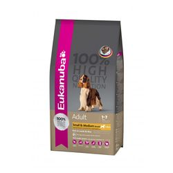 Eukanuba Adult Small & Medium Lamb 15 kg