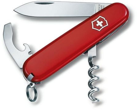 Victorinox žepni nož Waiter 0.3303, rdeč