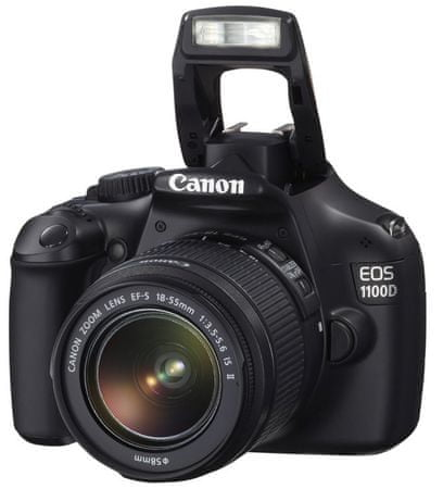 Canon EOS 1100D + 18-55 EF-S IS II Black