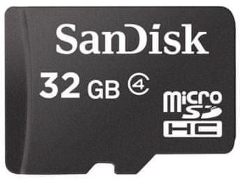 SanDisk microSDHC 32 GB Class 4 (SDSDQM-032G-B35)