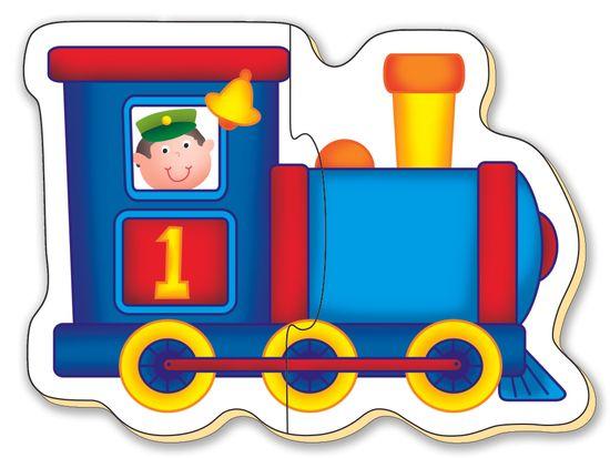 GALT Puzzle pre najmenších - dopravné prostriedky 2