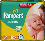 Pampers Active New Baby 2 Mini - 108 szt