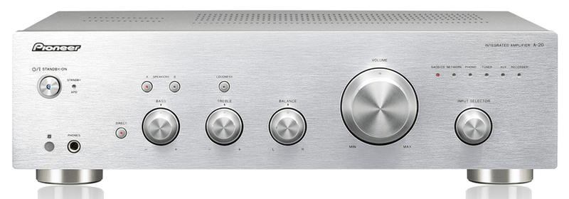 Pioneer A-20-S (Silver)
