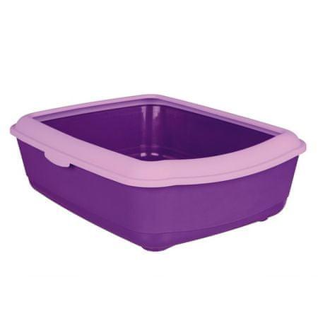 Trixie WC s okrajem fialová