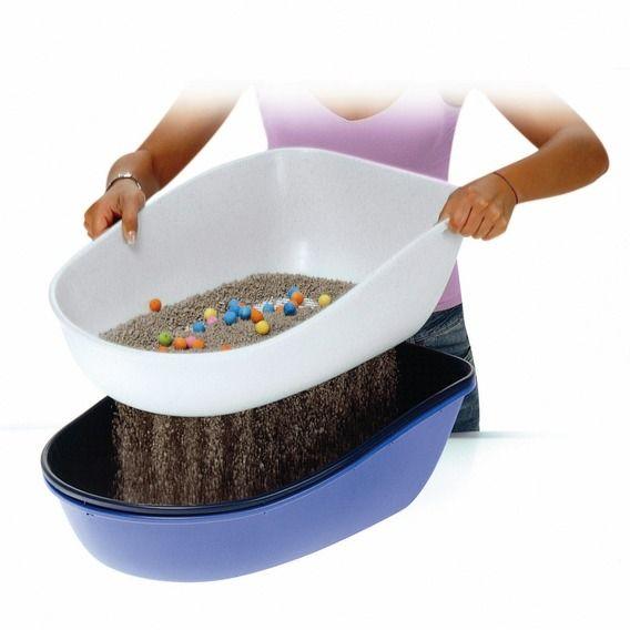Trixie WC BERTO - dvojitá nádoba se sítem