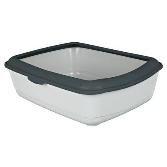 Trixie WC s okrajem šedá
