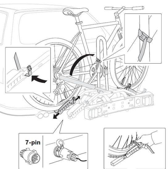 Thule nosilec za kolesa RideOn 9502