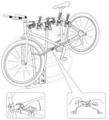Thule nosač za bicikle HangOn 974 - za 3 bicikla