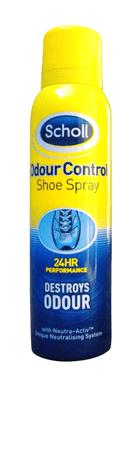 Scholl sprej za čevlje proti neugodnem vonju 150 ml