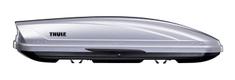 Thule strešni kovček Motion 600, srebrn