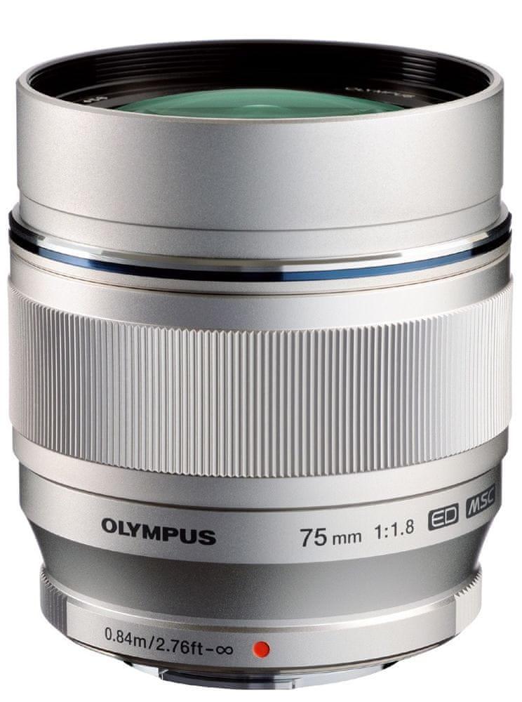 Olympus 75 mm M.ZUIKO DIGITAL ED f/1,8 Silver