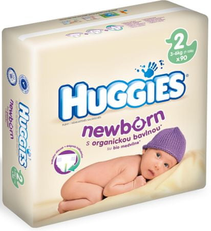 Huggies Newborn 2 Mega - 90 db