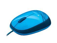 Logitech Miška M105, modra