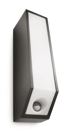 Philips zunanja svetilka s senzorjem 16933, antracitna