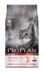 Purina Pro Plan Cat Adult Salmon & Rice macskaeledel - 10 kg
