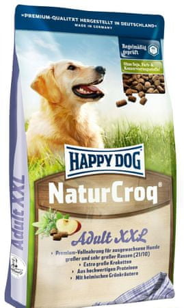 Happy Dog Natur-Croq XXL Kutyaeledel, 15 kg