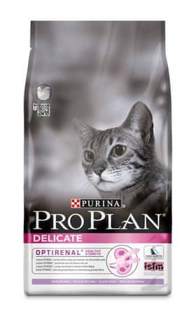 Purina Pro Plan hrana za mačke Delicate, puran, 10 kg