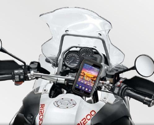 """CellularLine Interphone SM54 - voděodolný držák/pouzdro na řídítka pro smartphony a navigace do 5,4"""""""