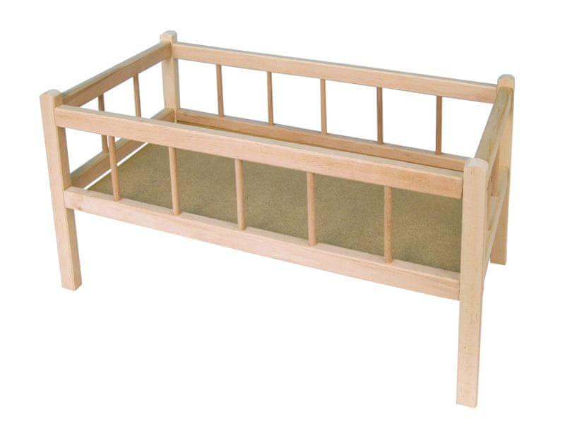 Teddies Postýlka dřevěná