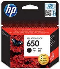 HP náplň č.650 - Černá (CZ101AE)