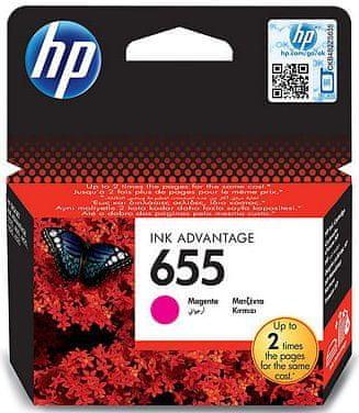HP náplň č.655 - Purpurová (CZ111AE)