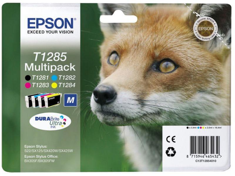 Epson T1285, sada (C13T12854010)