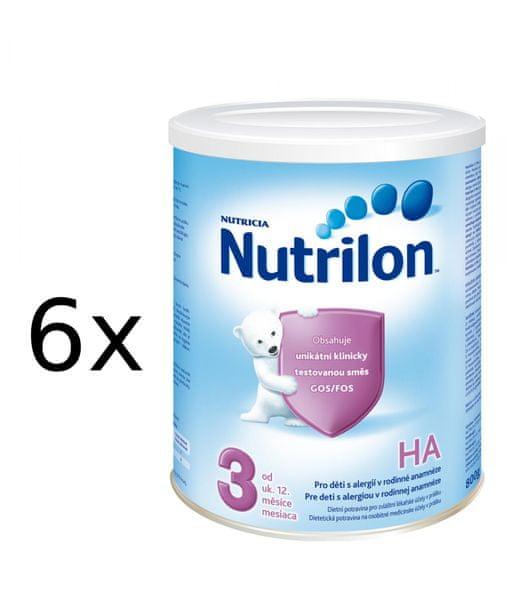 Nutrilon 3 HA - 6 x 800g - II. jakost