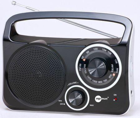 MP Man prenosni radijski sprejemnik (RPS600)