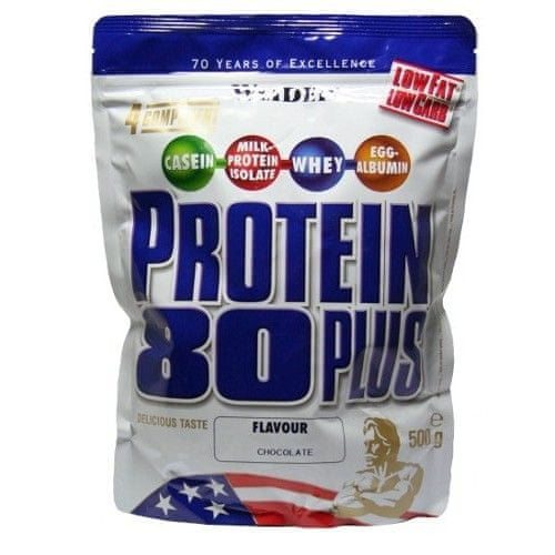 Weider Protein 80 Plus 500 g - Čokoláda