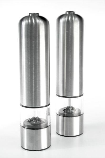 Ceramic Blade Elektrický mlýnek (NC-3307) na sůl a pepř sada 2 ks