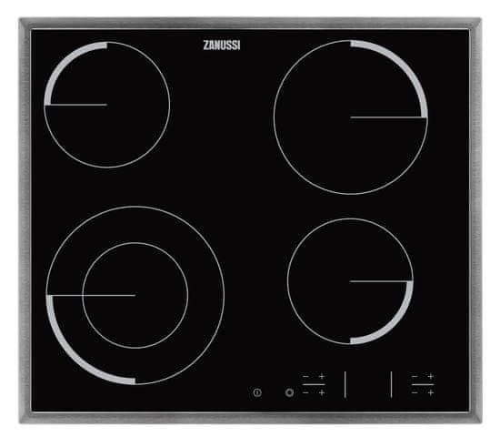 Zanussi električna kuhalna plošča ZEV6341XBA