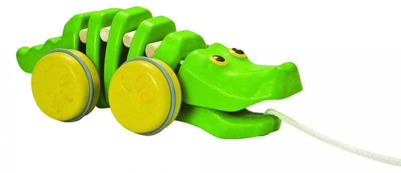 Plan Toys EKO - tančící aligátor
