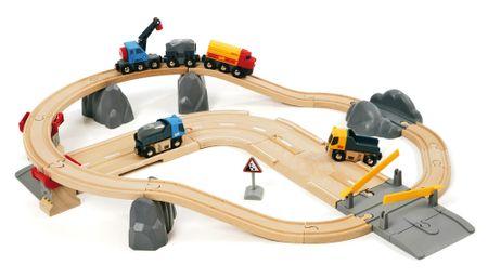 Brio železniški in cestni komplet: nakladanje