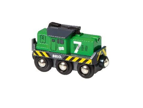 Brio WORLD 33214 Nákladní lokomotiva na baterie