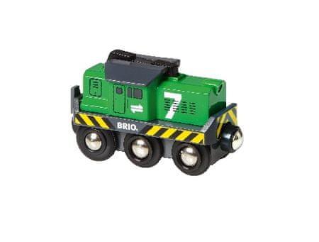 Brio električna zelena lokomotiva 33214