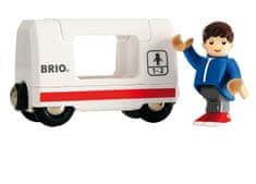 Brio Wagon z pasażerem do zestawu 33509