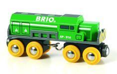 Brio Zielona lokomotywa towarowa 33693